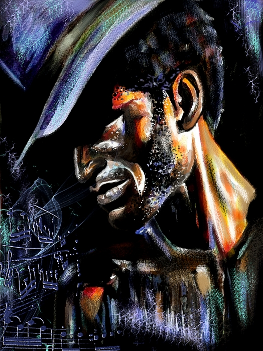 Keziah Jones by mariebouldingue